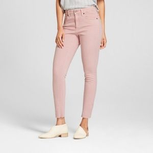 Rue 21 Pink High Rise Ankle Jeggings!